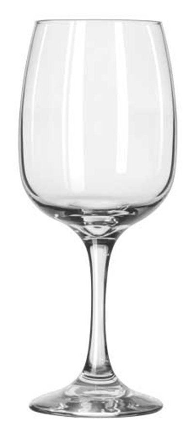 Libbey Glass 3833 12-oz Sonoma Finedge Rim Wine Glass