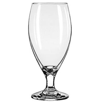 Libbey Glass 3915 14.75-oz Teardrop Beer Glass - Safedge Rim & Foot Guarantee