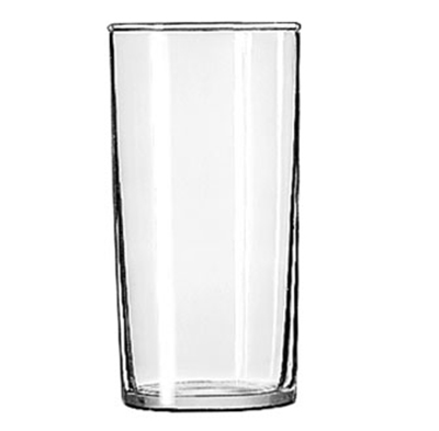 Libbey Glass 44 Straight Sided Hi-Ball Glass w/ Safedge Rim Guarantee,