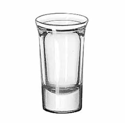 Libbey Glass 5033 1-oz Tall Whiskey Glass