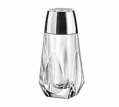 Libbey Glass 5037 1.56-oz Tabletop Glass Salt Pepper Shaker - Chrome Plated Plastic Top