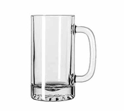 Libbey Glass 5092 16-oz Tankard Starburst Finedge Mug