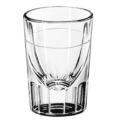 Libbey Glass 5135/S0617 1.25-oz Lined Fluted Shot Glass