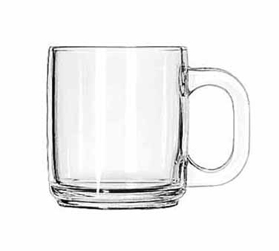Libbey Glass 5201 10-oz Clear Glass Coffee Mug