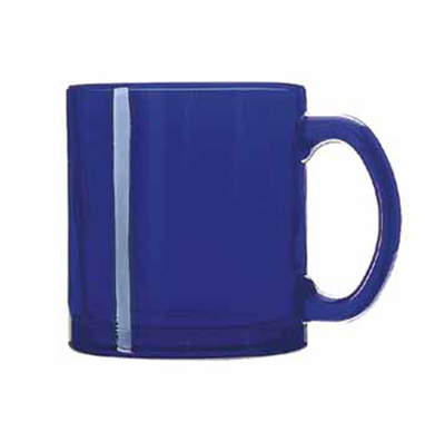 Libbey Glass 5213B 13-oz Cobalt Coffee Mug