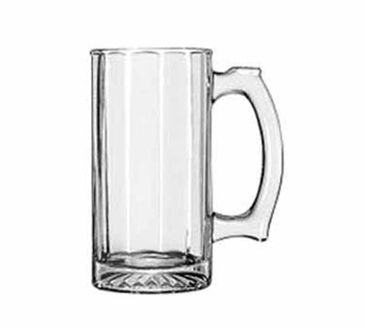 Libbey Glass 52733 12-oz Paneled Sport Mug