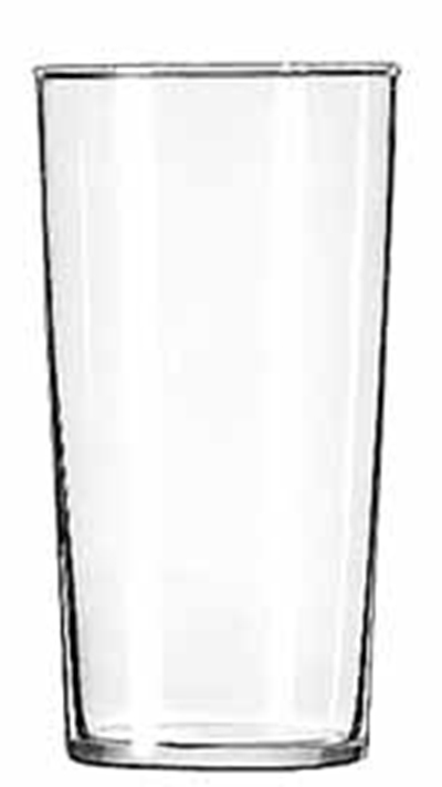 Libbey Glass 551HT 12.5-oz Straight Sided Iced Tea Glass - Safedge Rim
