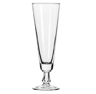 Libbey Glass 6425 10-oz Footed Pilsner Glass - Safedge R
