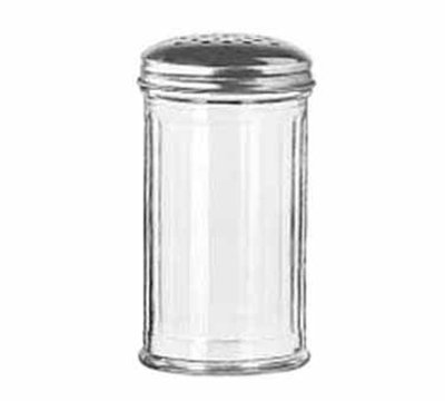 Libbey Glass 70140 13-oz Glass Cheese Shaker - Stainless Steel Top