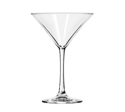 Libbey Glass 7512 8-oz Vina Martini Glass - Finedge and Safedge Rim Guarantee