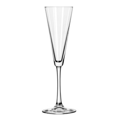 Libbey Glass 7552 6.5-oz Vina Trumpet Flute Glass