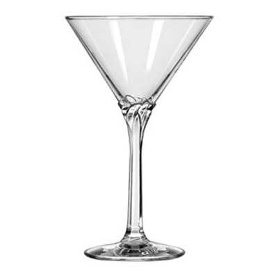 Libbey Glass 8978 8-oz Domaine Martini Glass - Safedge Rim Guarantee