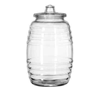 "Libbey Glass 9520003 15"" Barrel Canister"