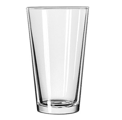 Libbey Glass 1637HT 20-oz Restaurant Basics DuraTuff Mixing Glass