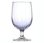 16-oz Montibello Misty Blue Iced Tea Glass - Safedge Rim