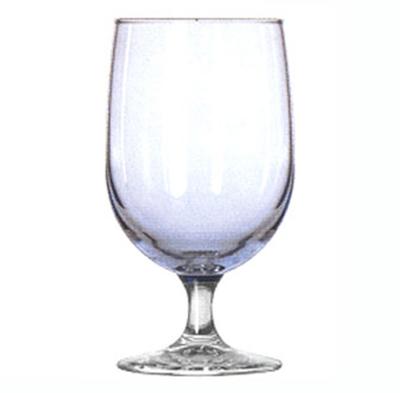 Libbey Glass 8512A4 16-oz Montibello Misty Blue Iced Tea Glass - Safedge Rim