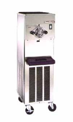 Saniserv 414-SERVE Floor Model Soft Serve/Yogurt Freezer, 1-Head, 2-HP, 208-230/60/1 V