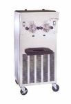 Saniserv 424-SOFTSERVE Soft Serve/Yogurt Twin Freezer - (2) Heads, 20-qt Mix Capacity/Side, Stainless