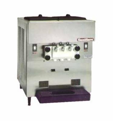 Saniserv 501T Soft Serve/Yogurt Twist Freezer, 2-Heads, (1) 2-HP, 208-230/60/1 V