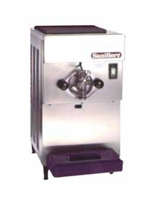 Saniserv 601 Countertop Shake Freezer, 1 Head, 1 HP Compressor, 208-230/60/3, NSF