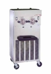 Saniserv 624-FREEZER Floor Model Shake Freezer, 2 Head, 2 HP Compressor, 208-230/60/3, NSF