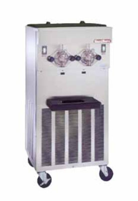 Saniserv 624-SHAKE Floor Model Shake Freezer, 2 Head, 2 HP Compressor, 208-230/60/1, NSF