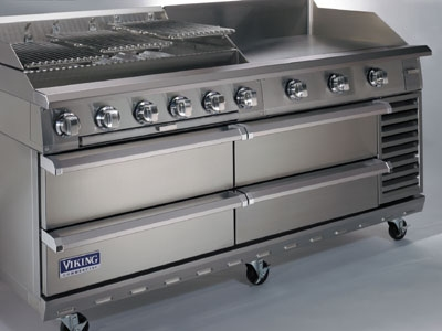 "Viking Commercial V72RBS 72"" Chef"