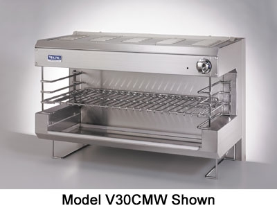 "Viking Commercial V24CMW 24"" Infrared Burner Gas Cheese Melter, NG"