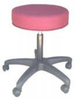 Ergocraft E-16501 16.25-in Delta Stool w/ 3-in Foam, Adjustable Height