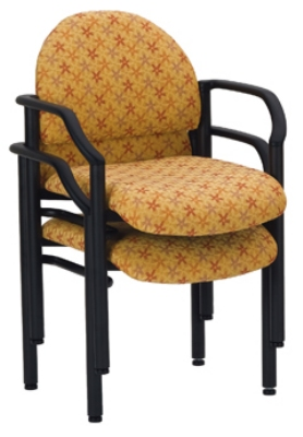 Ergocraft E-18520 Lakeport Reception Chair w/ Small Back, Stackable, 33.5 x 23.38 x 20-in