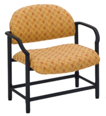 Ergocraft E-18520-BA Lakeport Reception Chair w/ Bariatric Seating, 700-lb Capacity