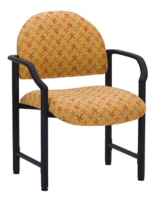 Ergocraft E-18520-HD Lakeport Reception Chair w/ Medium Back, 400-lb Capacity