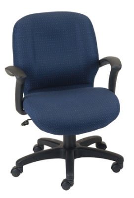Ergocraft E-46951 Zoey Executive Chair w/ Medium Back & 1-Paddle Control, Tilt Lock