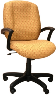 Ergocraft E-46981 Zoey Executive Chair w/ High Back & 1-Paddle Control, Tilt Lock