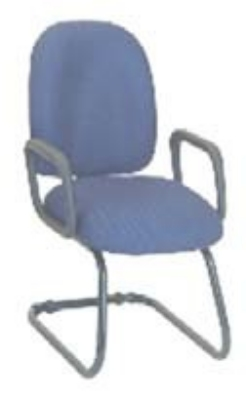 Ergocraft E-50150C Palisades Guest Chair w/ Medium Back & Cantilever Base