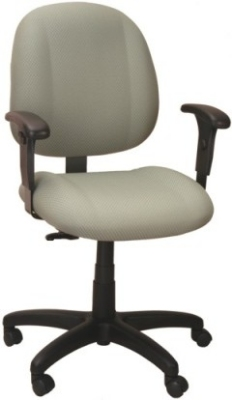 Ergocraft E-52851V Soft Sit Office Chair w/ 1-Paddle Task Control & Medium Back, Adjustable Seat