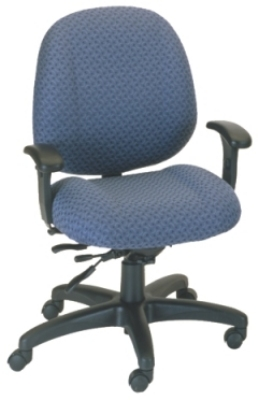Ergocraft E-52853V Soft Sit Office Chair w/ 3-Paddle V Control & Medium Back, Adjustabl