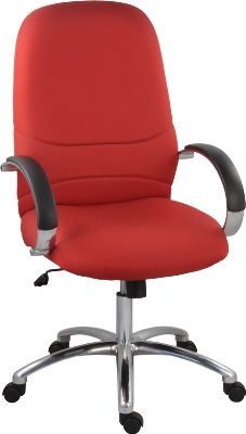 Ergocraft E-63181 Rodeo Executive Chair w/ High Back & 1-Paddle Control, Tilt Lock