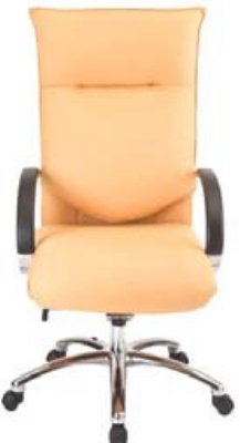 Ergocraft E-66581-KT-CB Executive Conference Chair w/ Chrome Base & 1-Paddle Knee Tilt Control, Manual