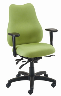 Ergocraft E-76884V Quasar Office Chair w/ 4-Paddle Executiv
