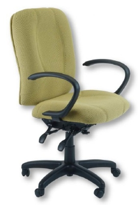 Ergocraft E-96884 Titan Office Chair w/ 4-Paddle Executive Control & High Back, Adjustable Seat