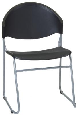 Ergocraft PS-1420 Zazz Stacking Chair w/ Polypropylene Shell & Steel Frame, Stacks 7 High