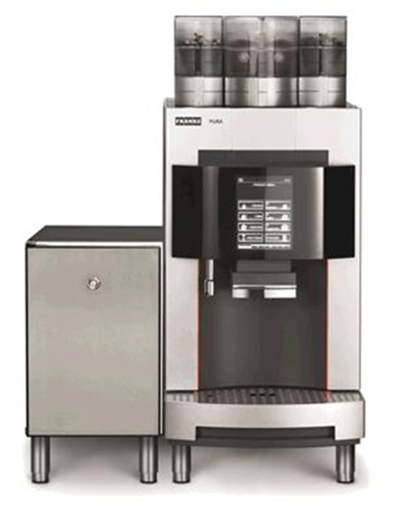 franke 70006223 espresso cappuccino machine w 2 grinders 1 powder hopper 208v katom. Black Bedroom Furniture Sets. Home Design Ideas