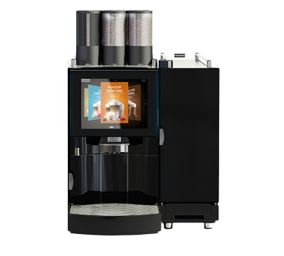 Franke FM2M1PFSUT Espresso Cappuccino Machine - Touchscreen, (2) Grinders, Black