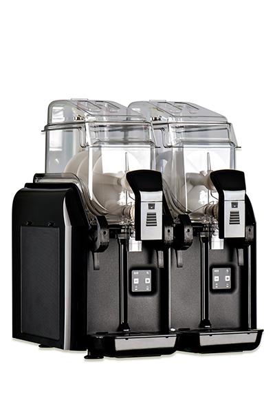 Elmeco BB2 BLACK Slush Machine w/ 2-Tank & 2.9-gal Capacity, Electronic Control, Black
