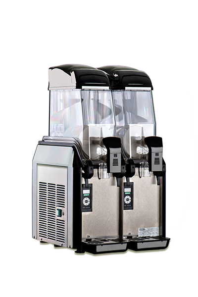 Elmeco FC2M Cold Beverage Dispenser w/ 6.4-gal Capacity & Electronic Controls, Black