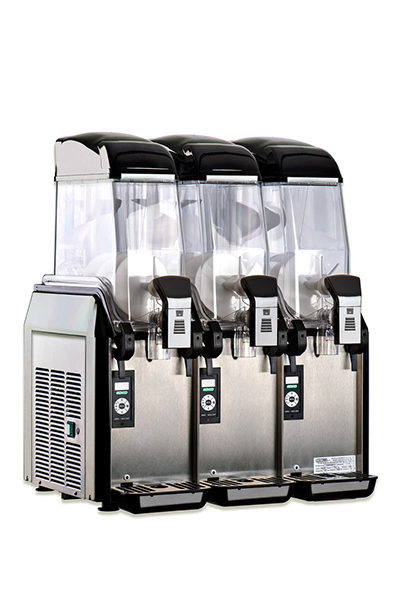 Elmeco FC3M Cold Beverage Dispenser w/ 9.6-gal Capacity & Electronic Controls, Black