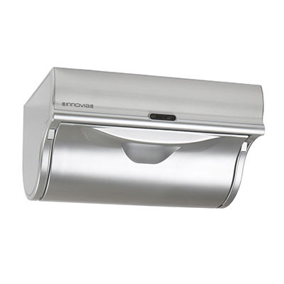 Innovia WB2-159S Automatic Paper Towel Dispenser w/ 6.5-in Round Roll Capacity, Stainless, Silver