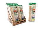 Funchop FC0003 Set of 5 Bamboo Chopsticks w/ Assorted Colored FunChop Connectors
