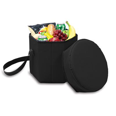 Picnic Time 596-00-179-000-0 12-qt Insulated Bongo Cooler - 250-lb Capacity, Water Resistant, Black